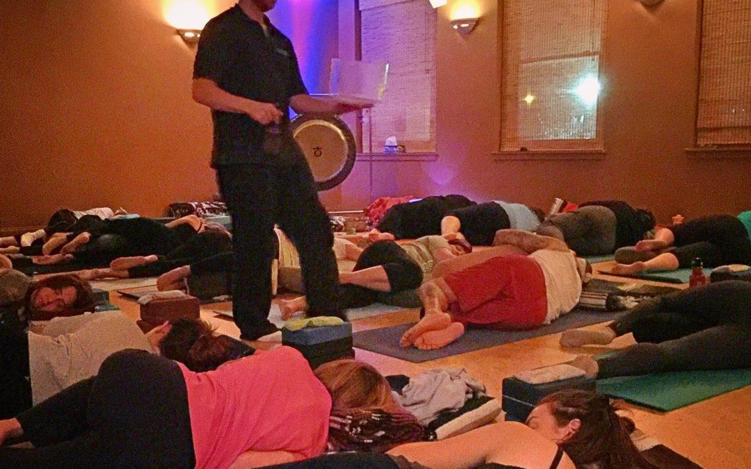 Restorative Yoga & Sound of Spring @Samadhi Yoga
